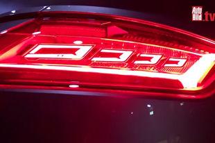 灯具厂新作 奥迪TT RS配备OLED尾灯