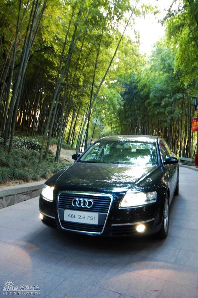 奥迪A6L 08年型外观 奥迪A6图片高清图片