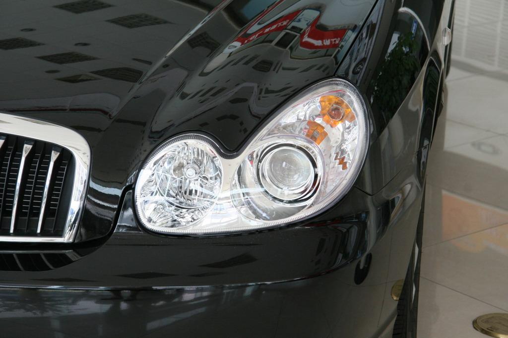 北京现代索纳塔前大灯_索纳塔细节图片31524_汽车图库
