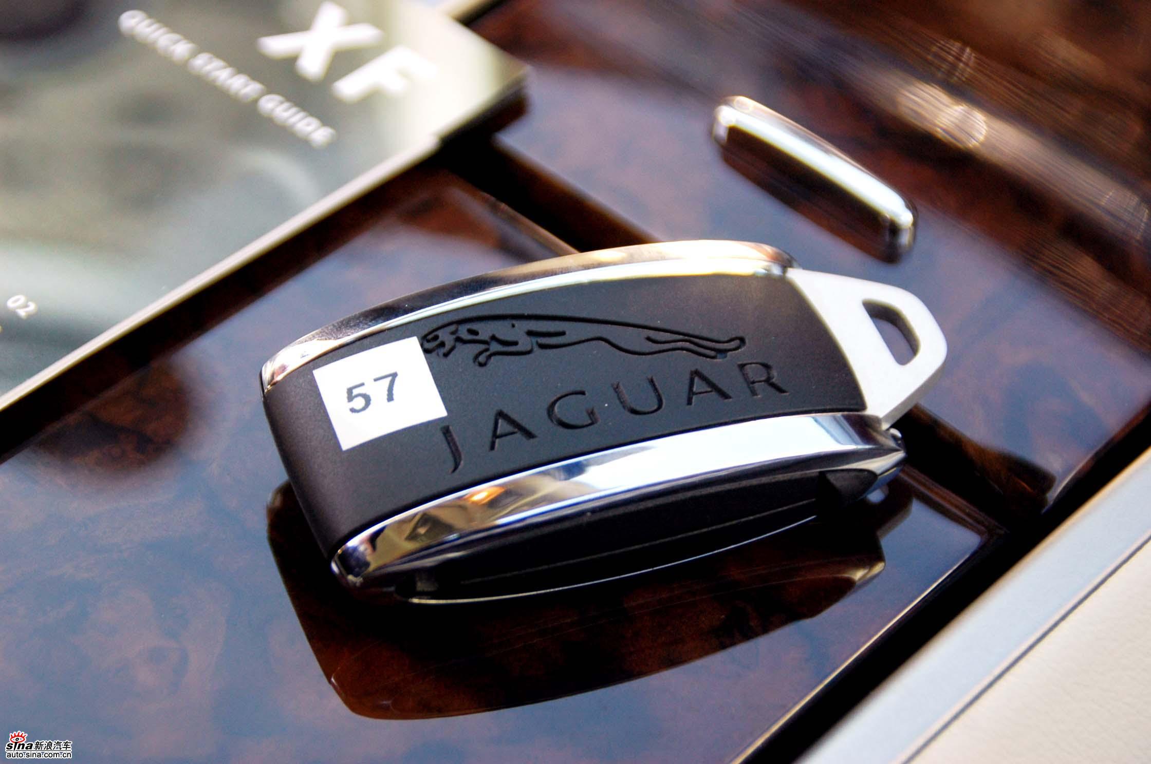 捷豹XF智能钥匙 捷豹XF图片高清图片