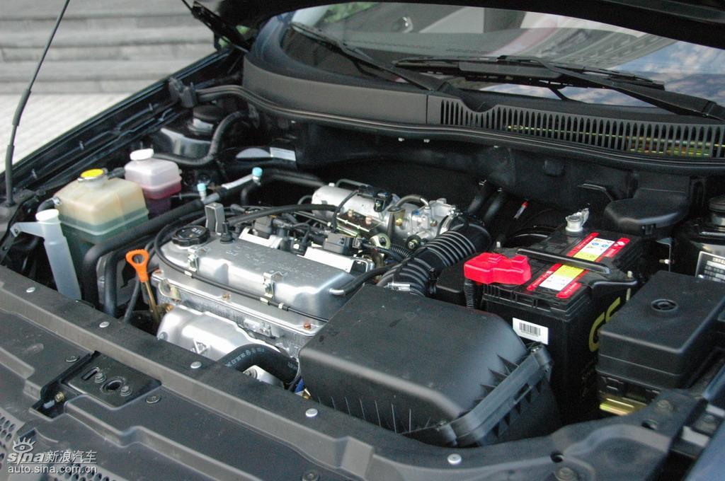 中华骏捷FRV1.3L发动机 骏捷FRV底盘图片10853 汽车图库 新浪汽车 高清图片