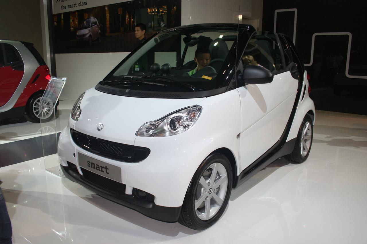 奔驰smart敞篷版 smart双座图片高清图片