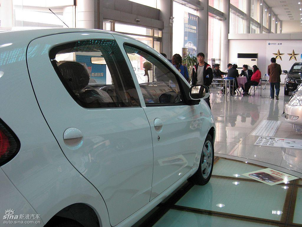 吉利熊猫1.3L车型到店实拍 熊猫图片高清图片