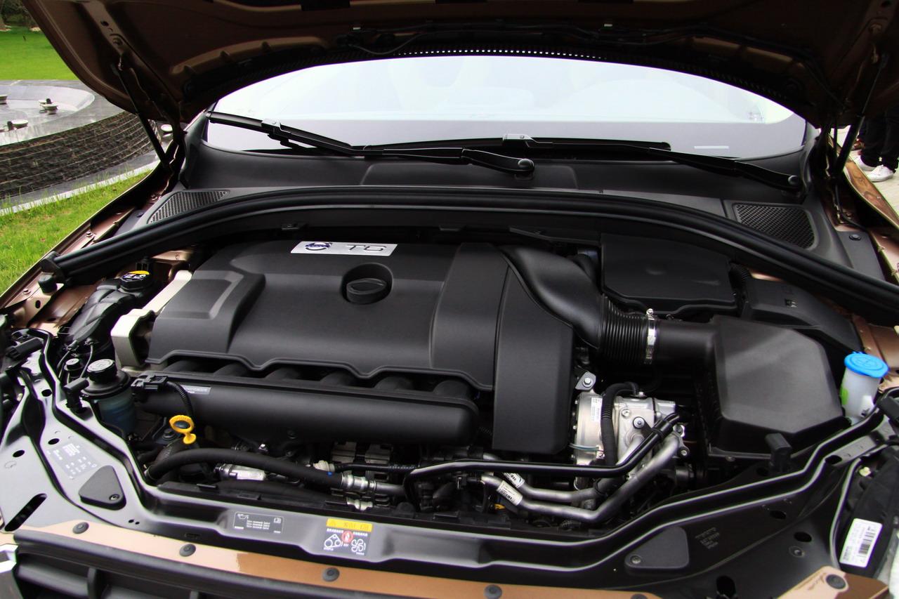 沃尔沃xc60发动机实拍图 xc60图片 汽车图库 新浪汽车高清图片