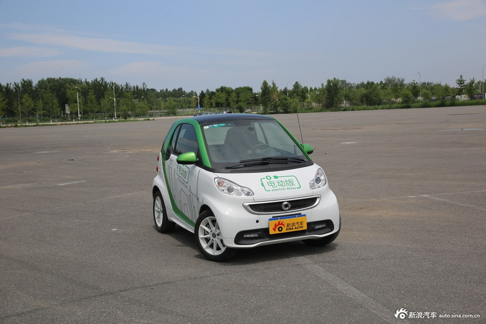smart fortwo限时优惠 现12.38万元起售