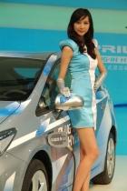丰田展台8号模特