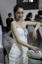 起亚展台3号模特
