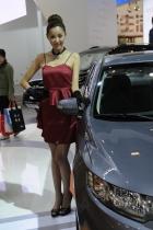 起亚展台12号模特