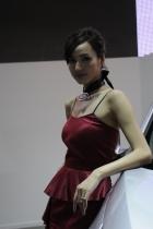 起亚展台8号模特
