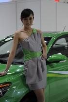 长安展台3号模特