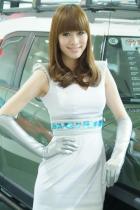 丰田展台3号模特