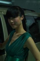 江淮展台6号模特
