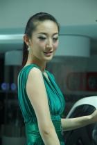 江淮展台7号模特