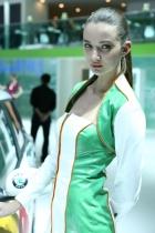 斯柯达展台11号模特
