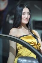 奇瑞展台16号模特