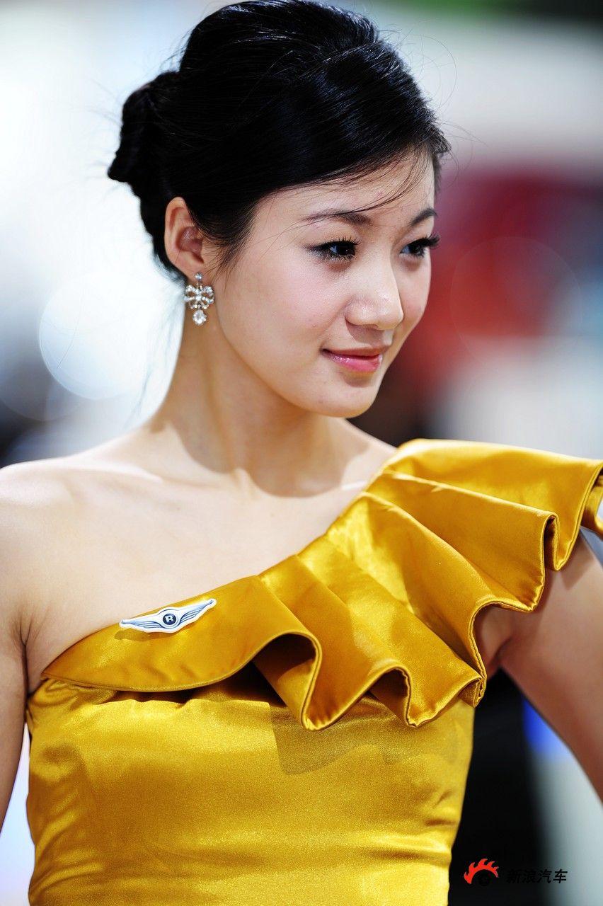 国际美女车模第美女_2010第十一届北京四季车的比沟高清图片