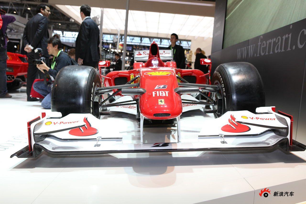 法拉利F1赛车高清图片