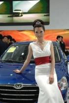 东风展台5号模特