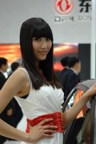 东风展台6号模特