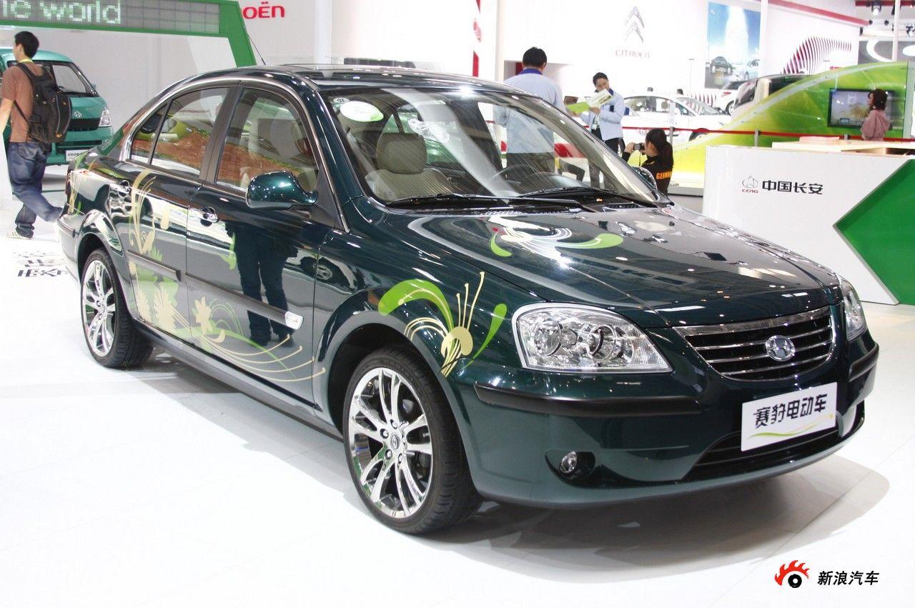 哈飞赛豹电动车