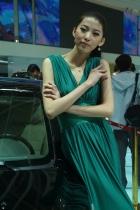 江淮展台11号模特