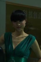 江淮展台12号模特