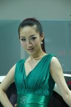 江淮展台9号模特