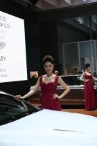 宾利展台1号模特