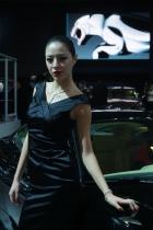捷豹展台1号模特