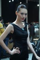 捷豹展台4号模特