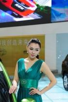江淮展台8号模特