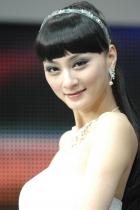 东风展台2号模特