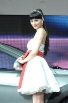 东风展台1号模特