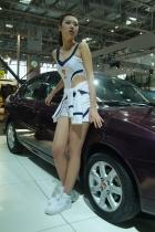 莲花展台2号模特