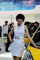 本田展台3号模特