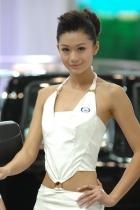 吉奥展台1号模特
