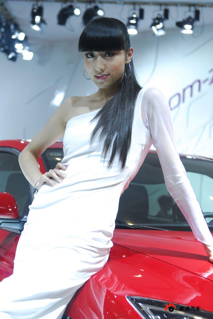马自达展台1号模特