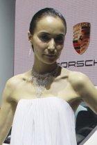保时捷展台2号模特