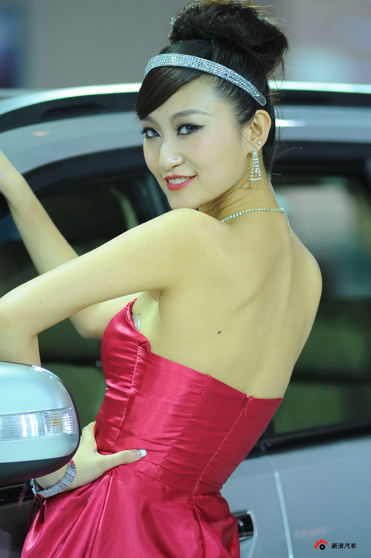 长城展台1号模特