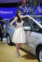 福特展台6号模特