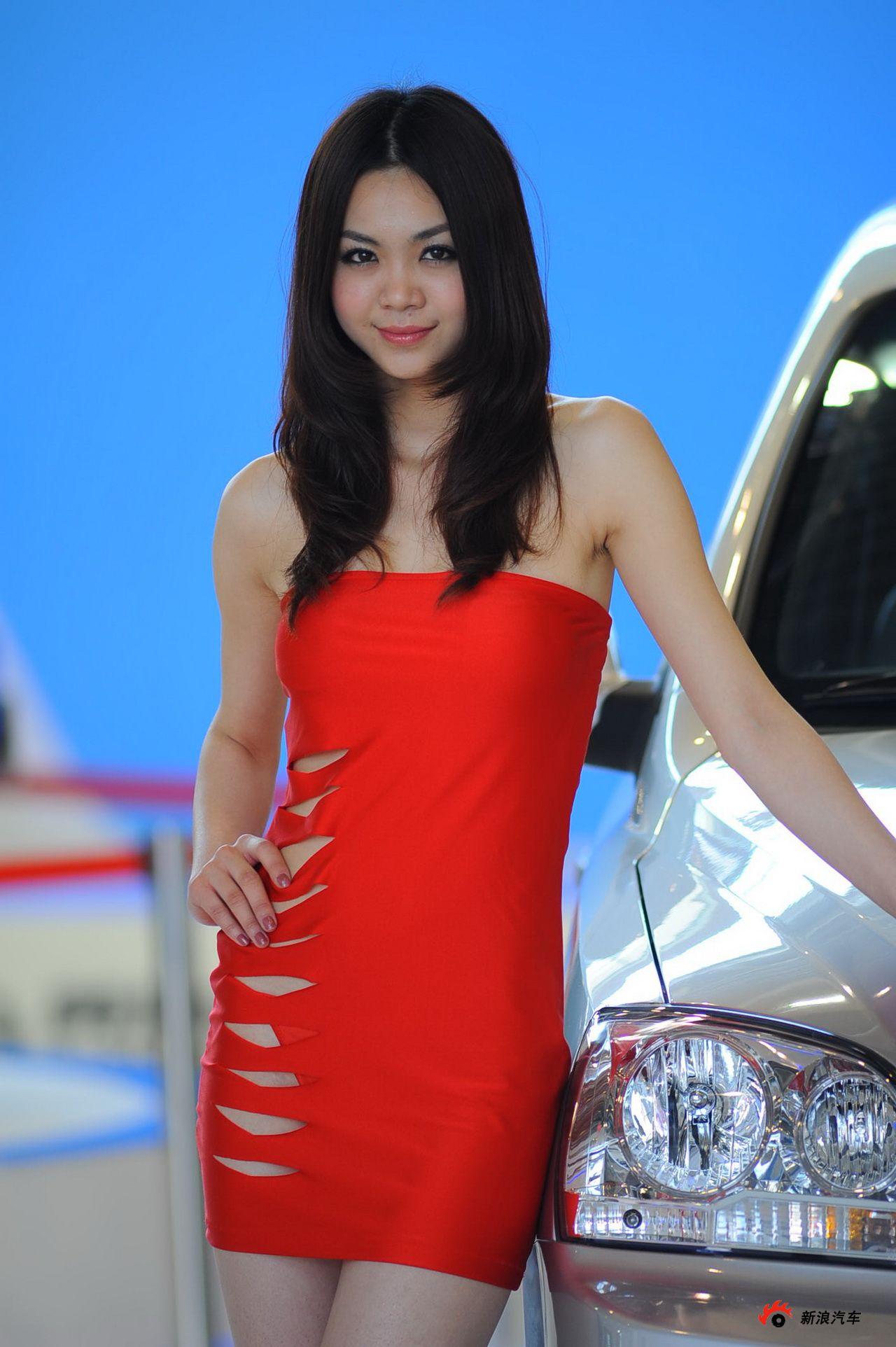 黄海展台1号模特