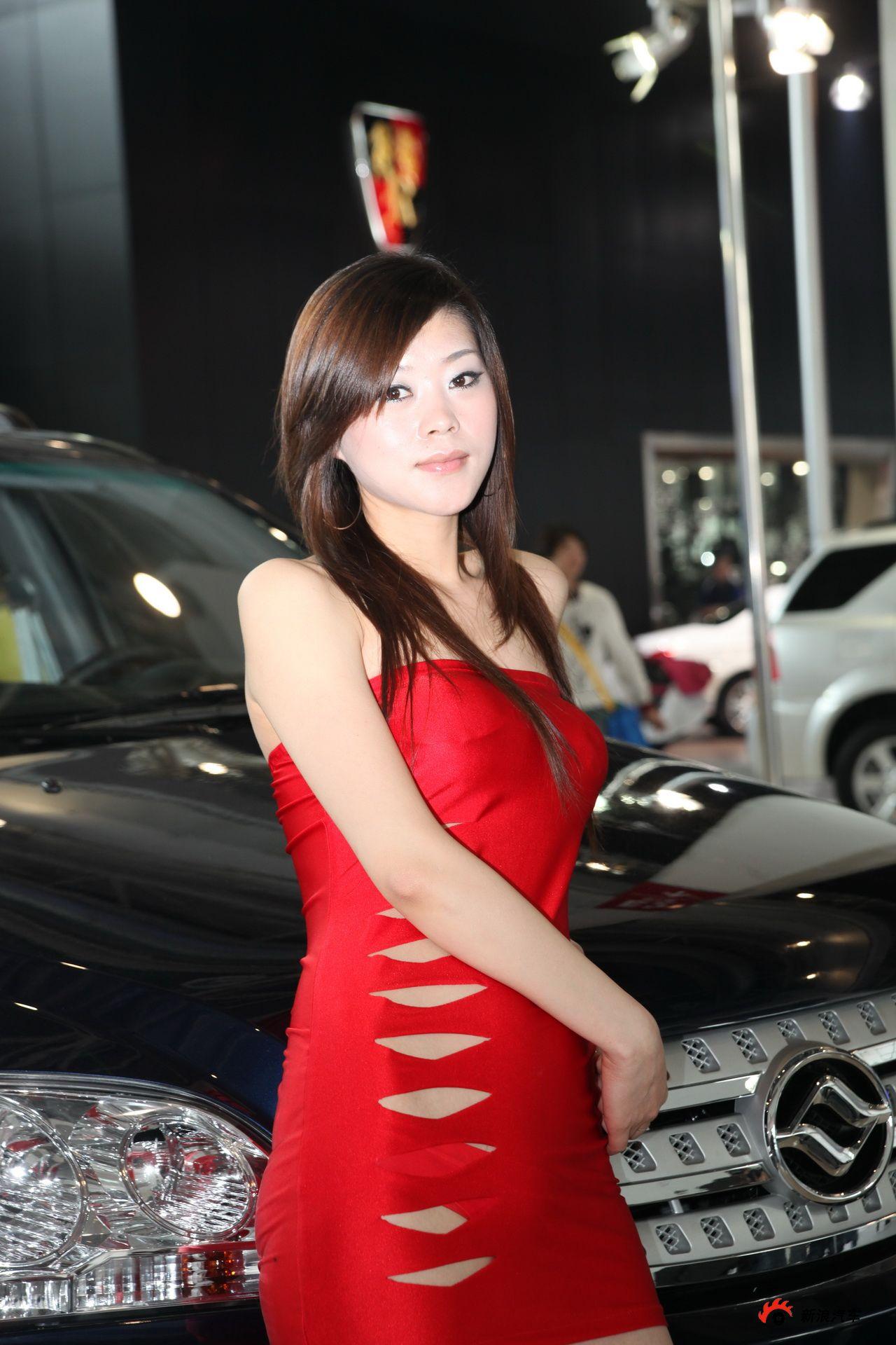 黄海展台3号模特