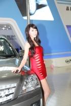 黄海展台4号模特