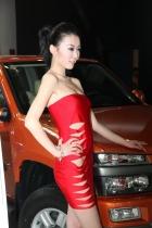 黄海展台5号模特