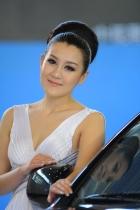 黄海展台2号模特