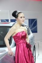 长城展台5号模特