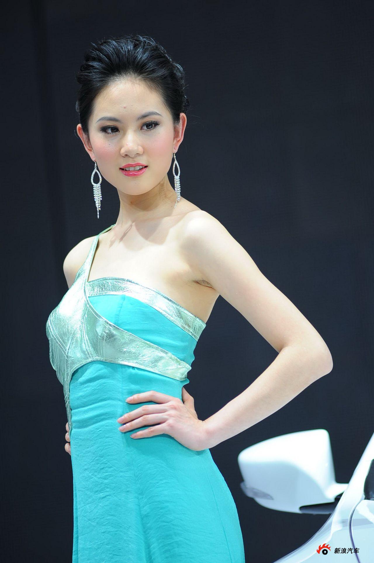 广汽展台4号模特