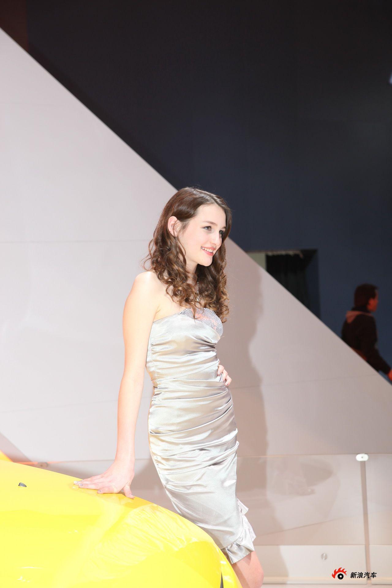 雪佛兰展台1号模特