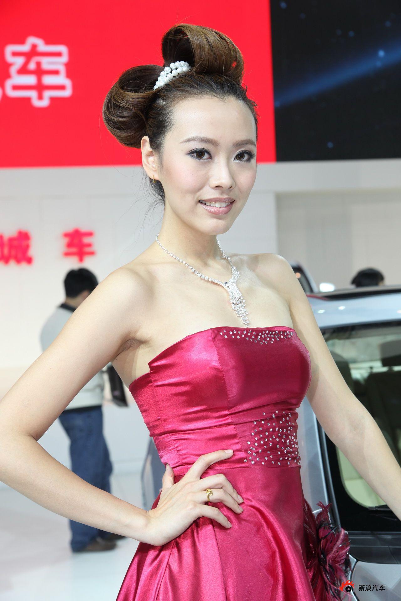 长城展台3号模特