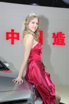 长城展台2号模特